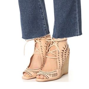 Jeffrey Campbell Size 10 Rodillo-Hi Tan Shoes